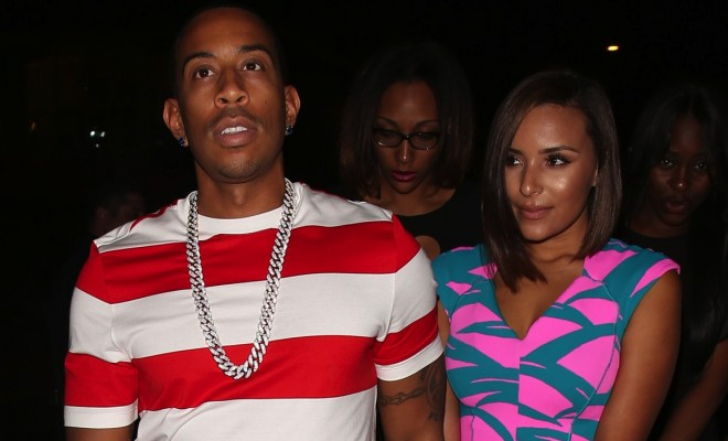 Rapper Ludacris leaves 1 oak with his girlfriend Eudoxie in West Hollywood