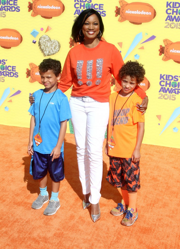 Garcelle Beauvais attends The 28th Annual Kid's Choice Awards in LA