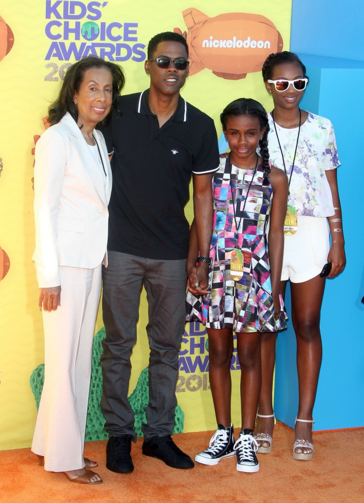 Chris Rock attends The 28th Annual Kid's Choice Awards in LA