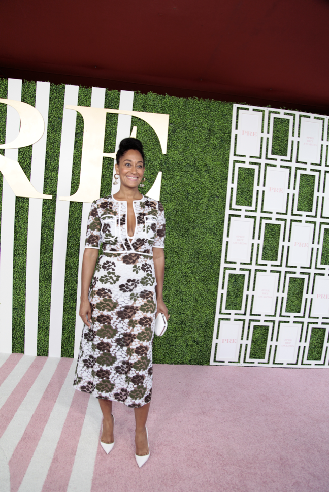 Tracee Ellis Ross at the Debra Lee PRE Party