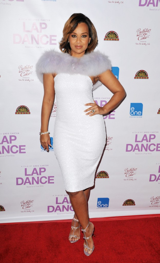 130094, LisaRaye McCoy attends the Los Angeles Premiere of the film 'Lap Dance' at ArcLight Cinemas in Hollywood. Los Angeles, California - Monday December 8, 2014. Photograph: © Koi Sojer, PacificCoastNews. Los Angeles Office: +1 310.822.0419 sales@pacificcoastnews.com FEE MUST BE AGREED PRIOR TO USAGE