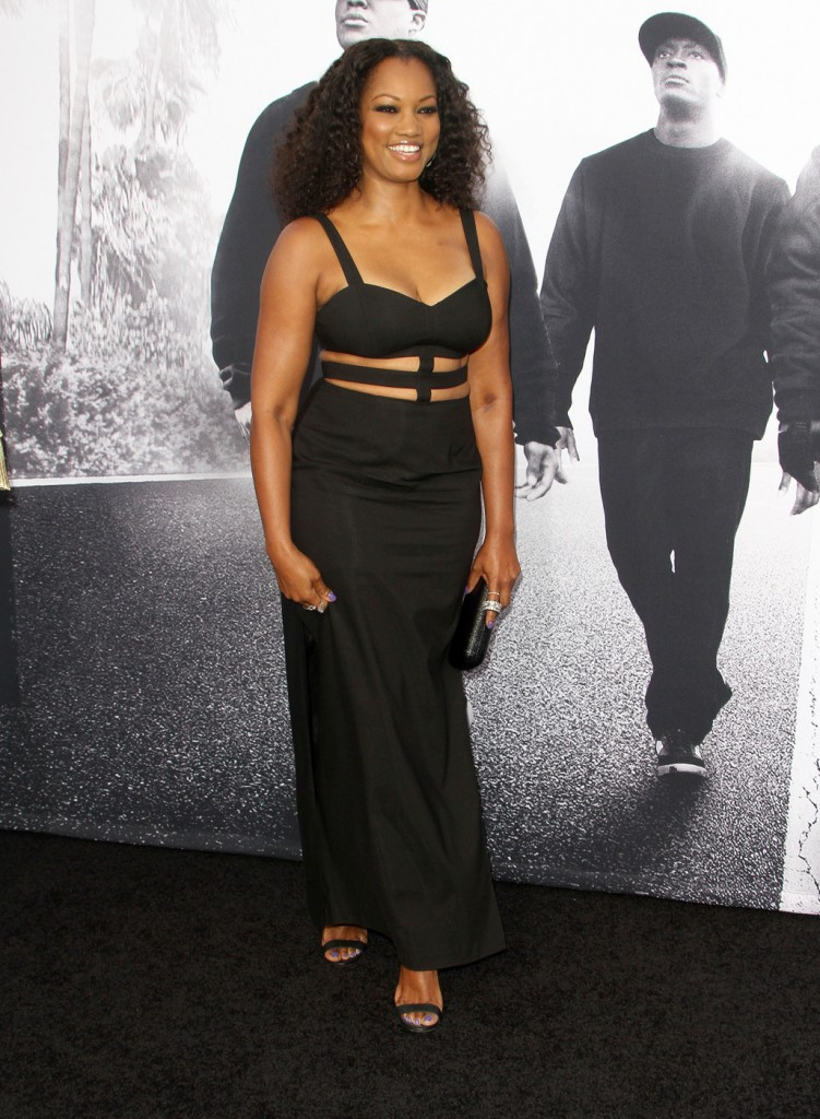 Garcelle Beauvais attends the premiere of 'Straight Outta Compton' in LA