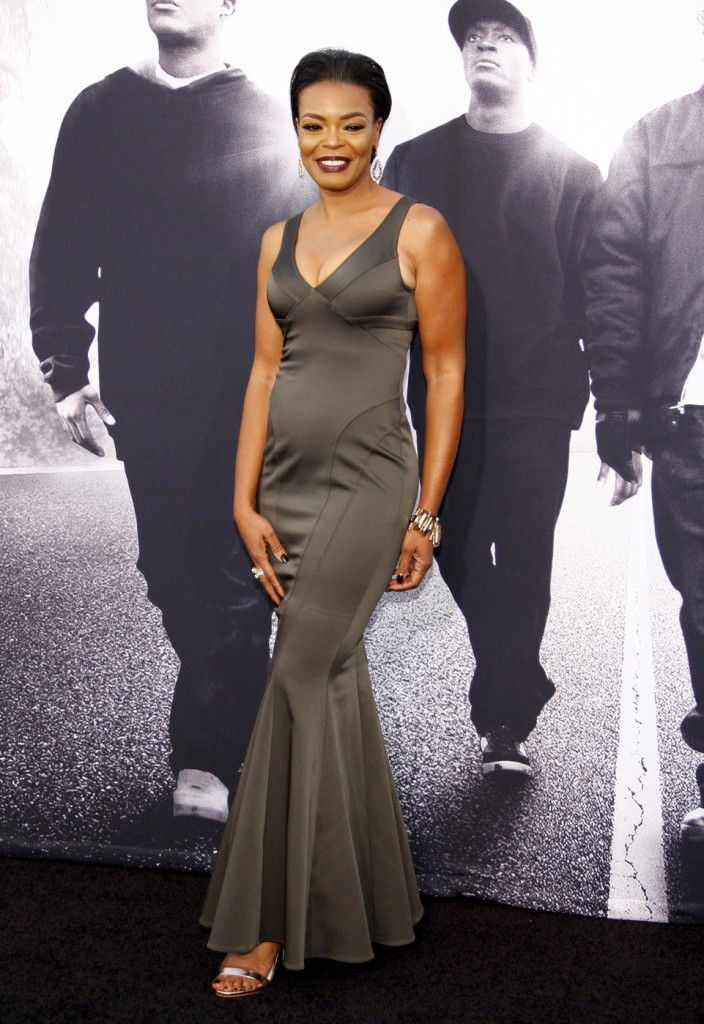 Verna Griffin at the Los Angeles premiere of 'Straight Outta Compton'