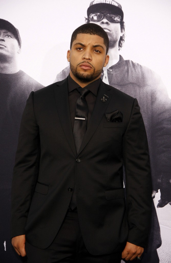 O'Shea Jackson Jr. at the Los Angeles premiere of 'Straight Outta Compton'
