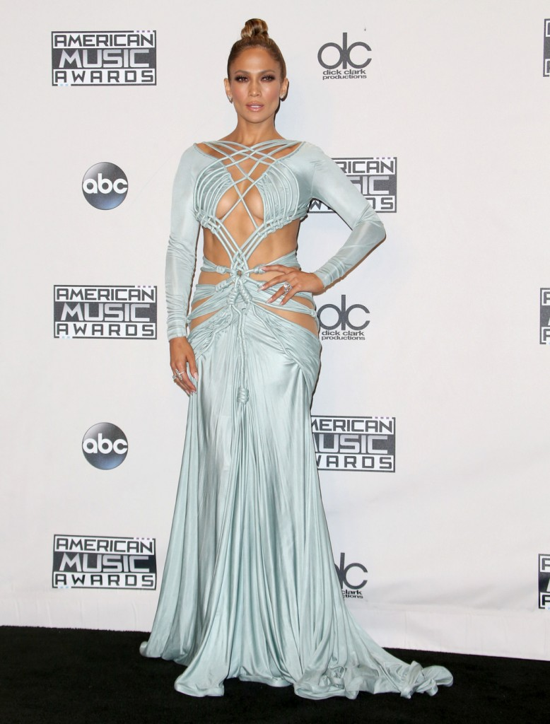 Jennifer Lopez attends The 2015 American Music Awards Photo Press Room in Los Angeles on Sunday, November 22nd, 2015.Photograph: © Pacific Coast News.