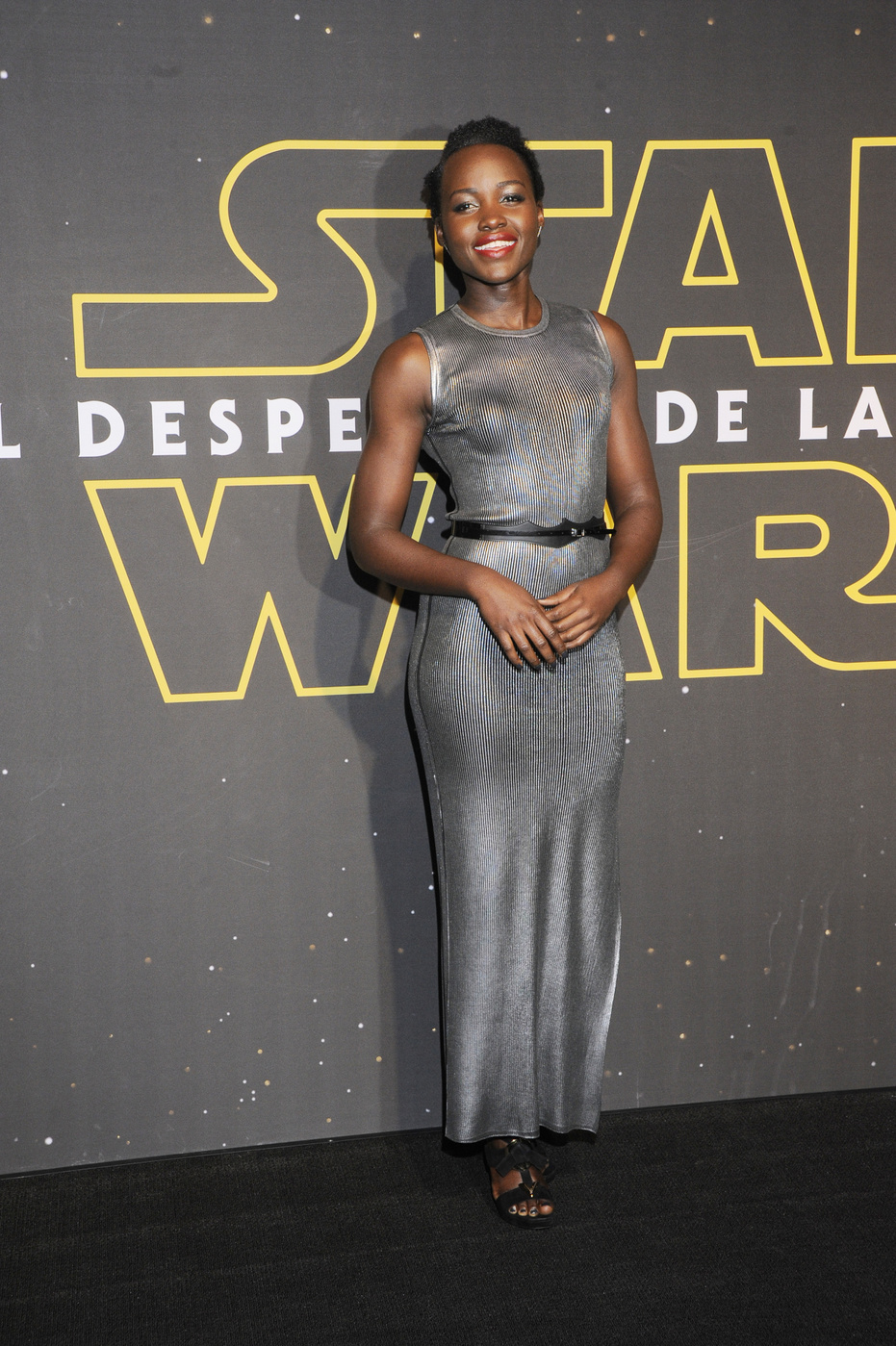 Lupita Nyong'o arrives at Star Wars: Episode VII – The Force Awakens in Mexico cityFan Event