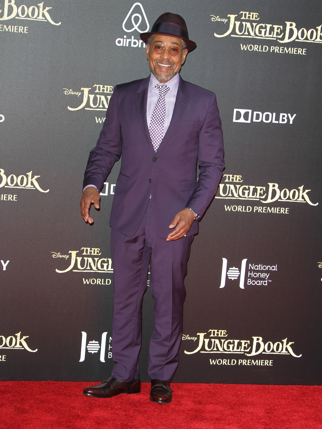 Giancarlo Esposito attends the premiere of 'The Jungle Book ' at El Capitan Theater, Hollywood