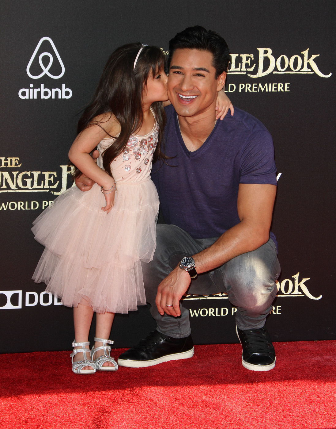 Mario Lopez attends the premiere of 'The Jungle Book ' at El Capitan Theater, Hollywood