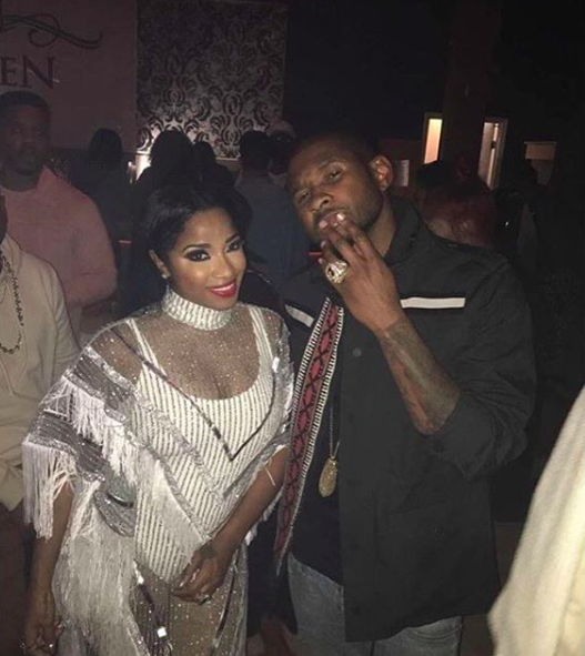 Toya Wright, Usher