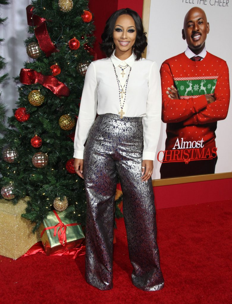 159030, Keri Hilson attends the premiere of 'Almost Christmas' in Los Angeles. Los Angeles, California - Thursday, November 3, 2016. Photograph: PacificCoastNews. Los Angeles Office: +1 310.822.0419 sales@pacificcoastnews.com FEE MUST BE AGREED PRIOR TO USAGE