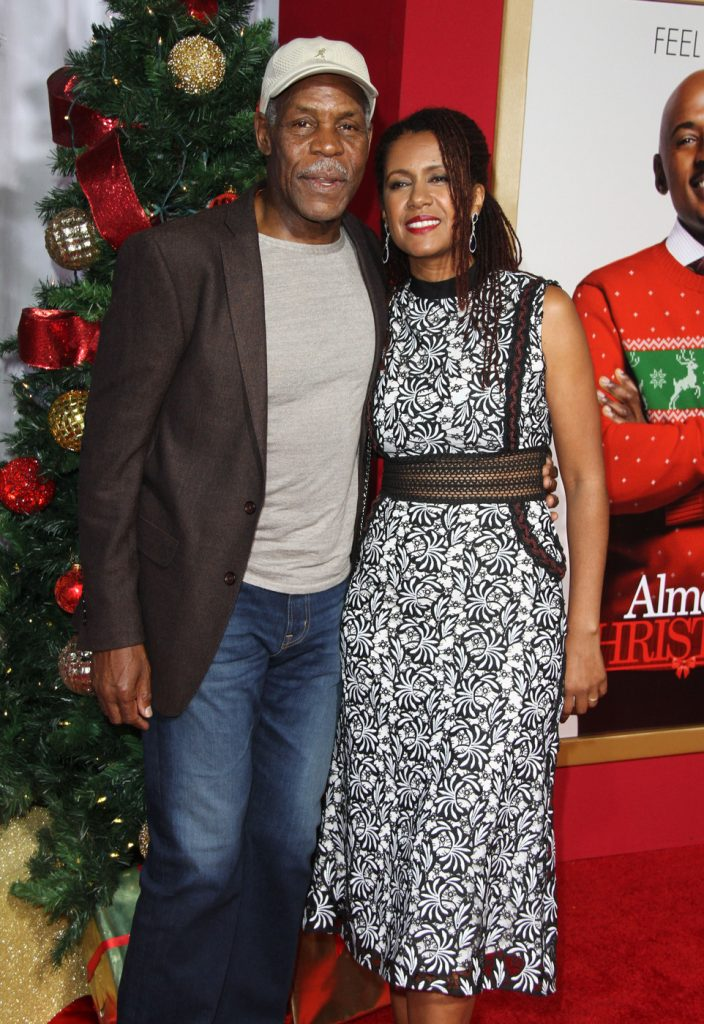 159030, Danny Glover, Eliane Cavalleiro attends the premiere of 'Almost Christmas' in Los Angeles. Los Angeles, California - Thursday, November 3, 2016. Photograph: PacificCoastNews. Los Angeles Office: +1 310.822.0419 sales@pacificcoastnews.com FEE MUST BE AGREED PRIOR TO USAGE