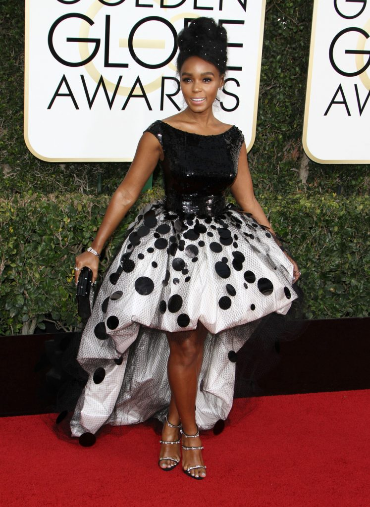 160681, Janelle Monae attends The 74th Annual Golden Globe Awards. Los Angeles, California - Sunday January 8 2017. Photograph: © PacificCoastNews. Los Angeles Office (PCN): +1 310.822.0419 UK Office (Photoshot): +44 (0) 20 7421 6000 sales@pacificcoastnews.com FEE MUST BE AGREED PRIOR TO USAGE