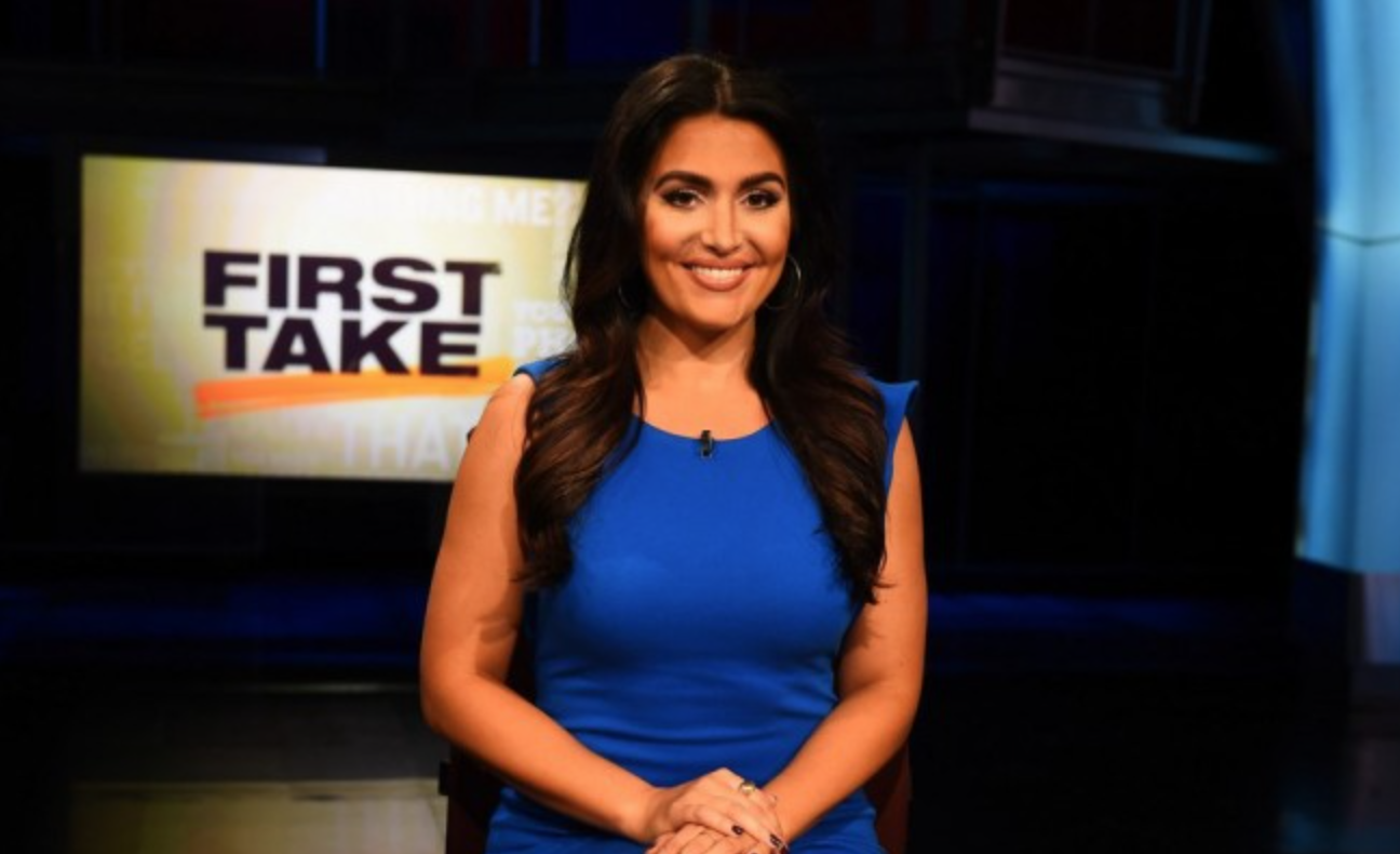 First Take Host Molly Qerim Cheating Story Is Fakenews Here We Go Again Mto Hiphollywood