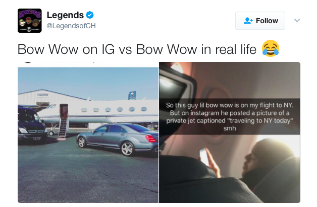 Bow Wow Defends Private Jet Ig Photo Theres A Scientific Method