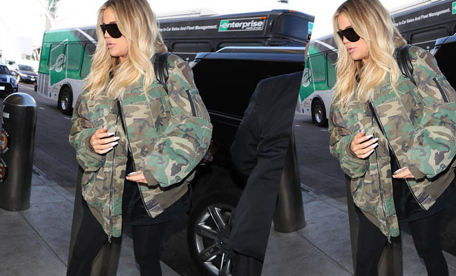 Whoa khloe kardashian is how many months pregnant for How many kardashians are there