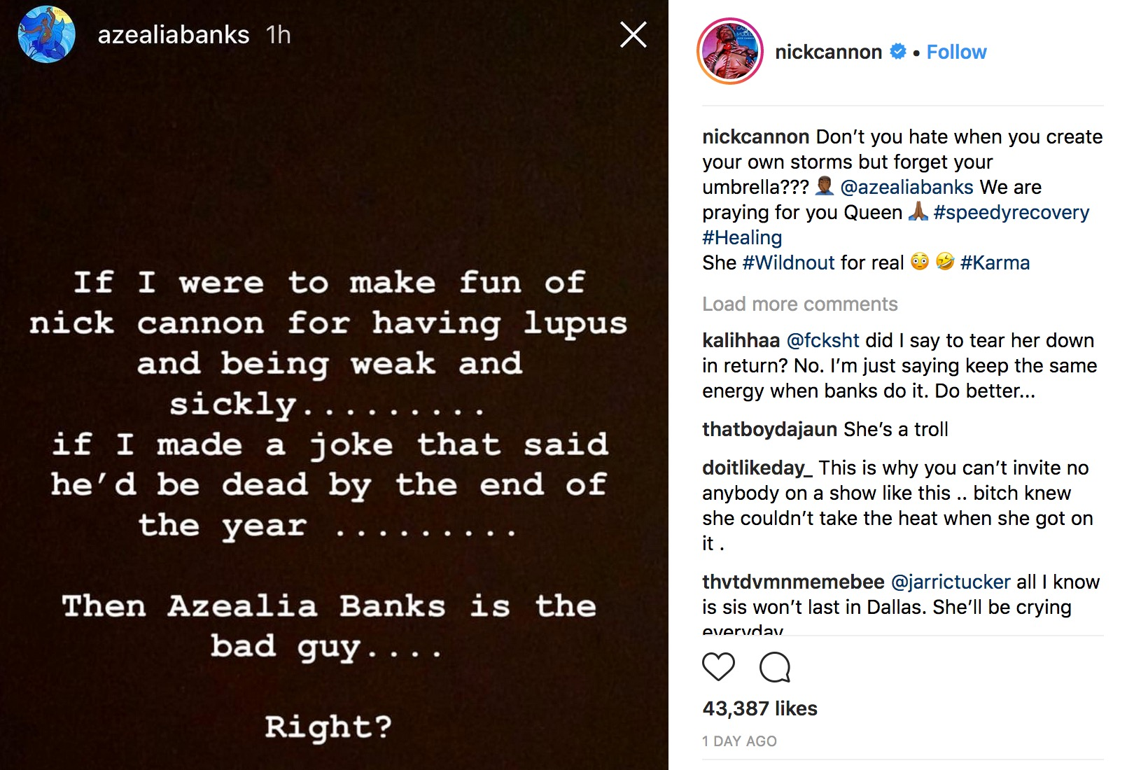 Azealia Banks Cancels New Album Amid Nick Cannon Wild N Out Feud Hiphollywood