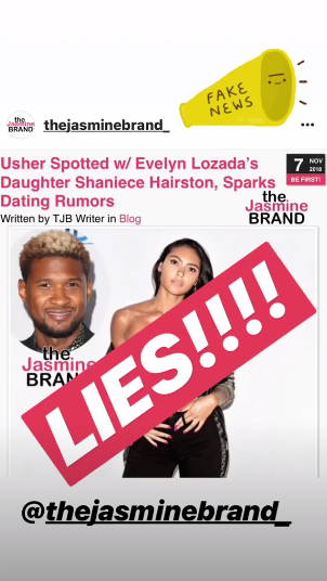 Evelyn Lozada Calls Bs On Claims Daughter Is Dating Usher