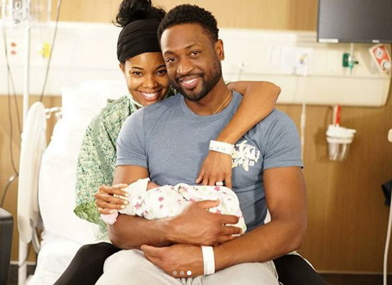 Gabrielle Union & Dwayne Wade Join Hollywood Surrogate Club
