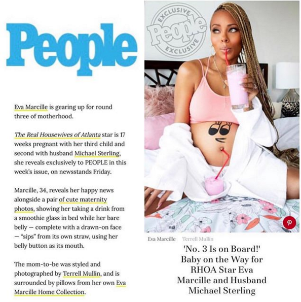 Surprise! Eva Marcille is Pregnant With Baby No  3