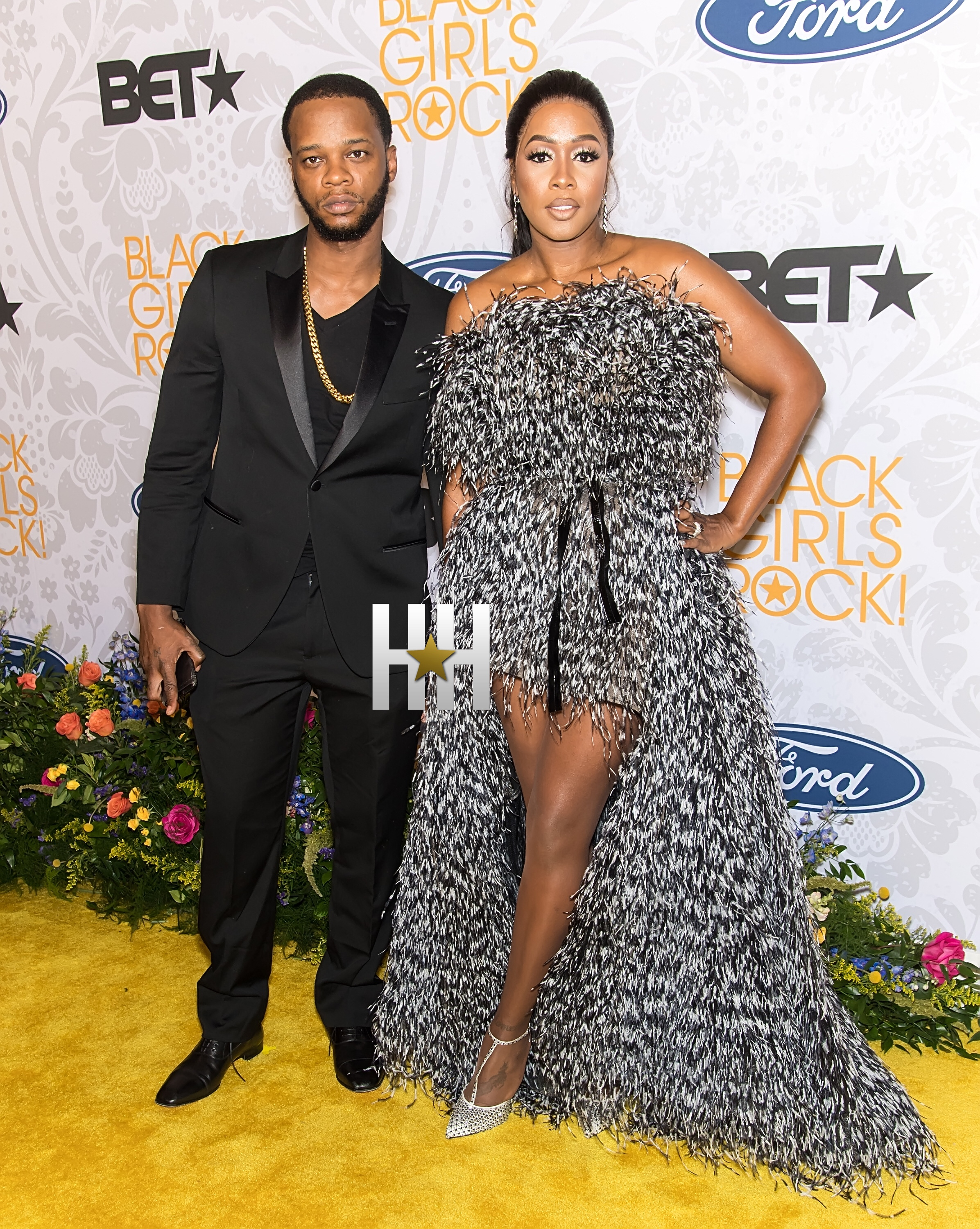 NEWARK, NJ – AUGUST 25:  Papoose and Remy Ma attend 2019 Black Girls Rock! at NJ Performing Arts Center on August 25, 2019 in Newark, New Jersey.  (Photo by Gilbert Carrasquillo/Getty Images)
