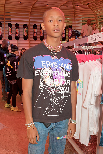 """Jaden Smith Opens New Pop Up """"Erys Presents: Everything Bad For You"""" At Selfridges"""