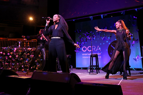 Ovarian Cancer Research Alliance Presents Style Lab At Gotham Hall NYC, Hosted By Maggie Gyllenhaal & Kate Mara