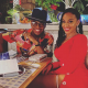 Crystal Smith with husband Ne-Yo
