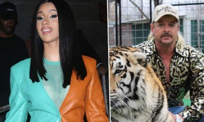 Cardi B Vows To Free Tiger King Star