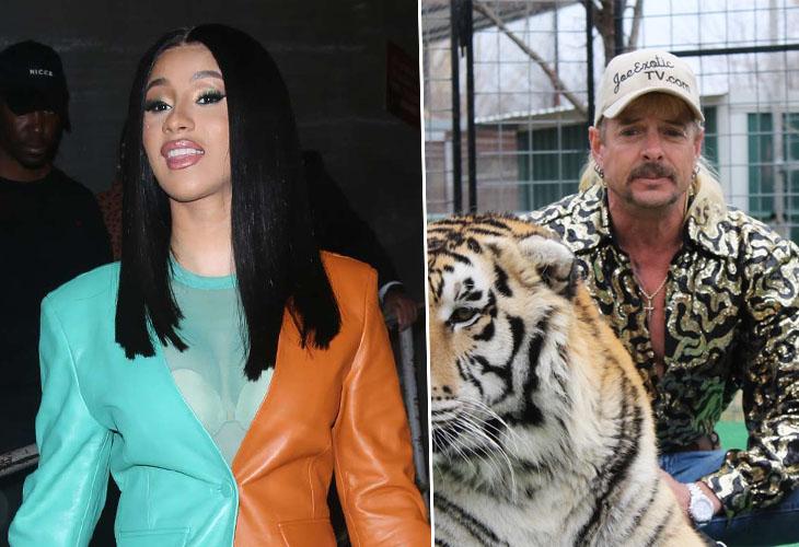 Cardi B Vows To Free Tiger King Star
