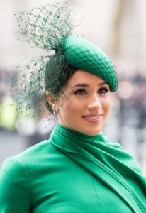 Meghan Markle turned heads in emerald green dress