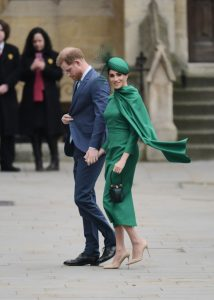 Meghan Markle wore green dress for Commonwealth Day