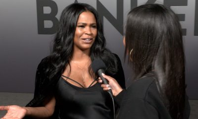 Nia Long Escalator Walk Video