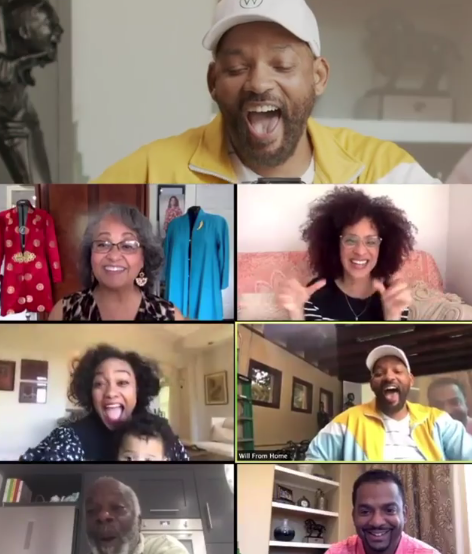 Will Smith Reunites The Cast Of Fresh Prince Of Bel Air