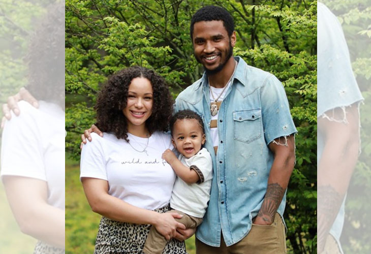 Trey Songz Posts Picture With Son's Mother Caro Colo