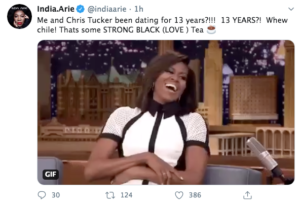 India.Arie Responds Rumors Dating Chris Tucker