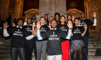 Oscars Snubbed Selma After Cast Wore I Can't Breathe Shirts