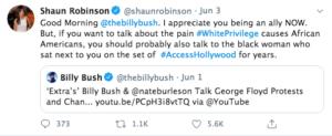 Shaun Robinson Sends Billy Bush A Message Via Twitter