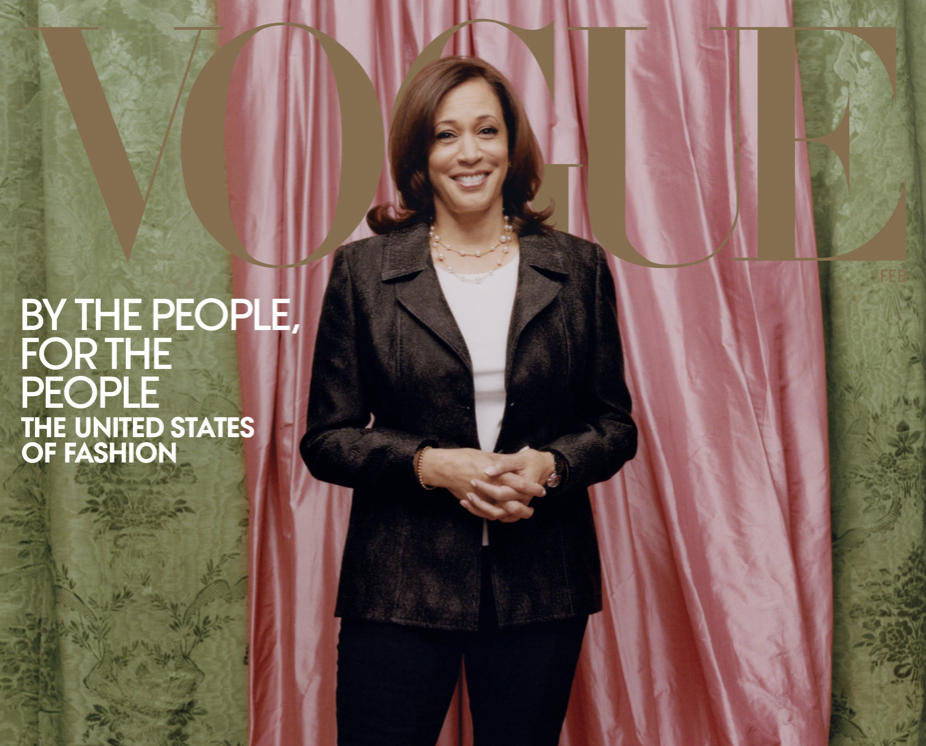 Vogue Responds To Controversy Over Kamala Harris Cover