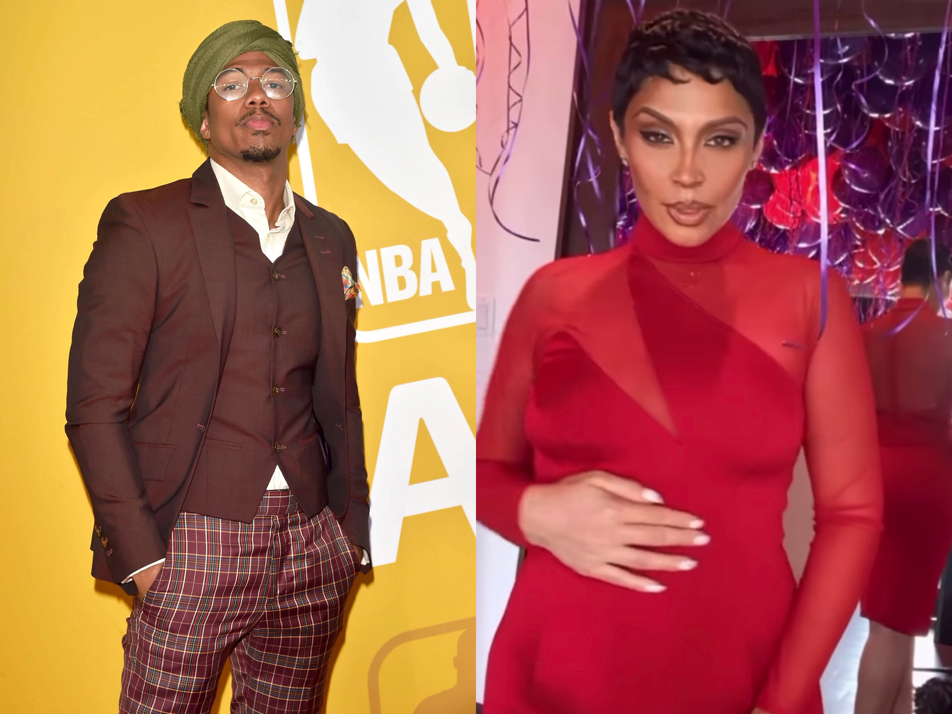 Nick Cannon Expecting Baby With Ashley DeLa Rosa